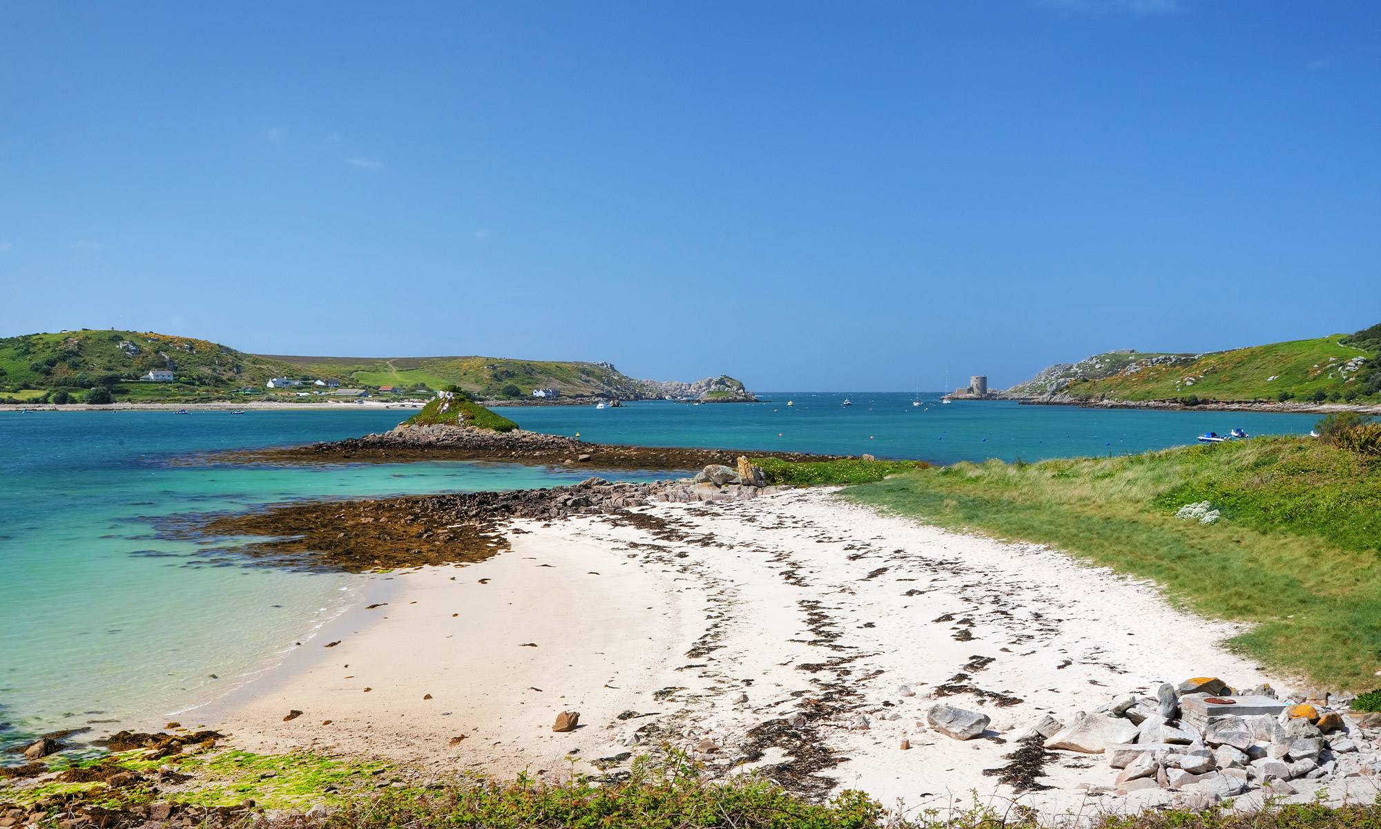 Beach on Isle of Scilly, Cornwall