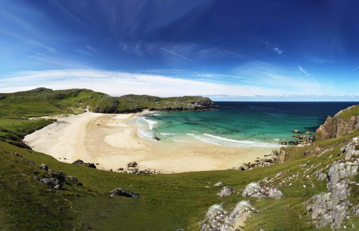 Dalmore Beach on the Isle of Lewis, Scotland