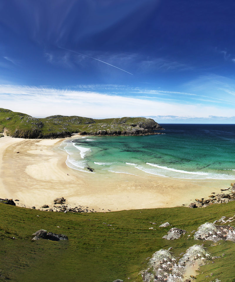 Dalmore Beach on the Isle of Lewis, Scotland