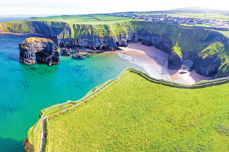 Ring of Kerry, Green Sea, Irish Coast