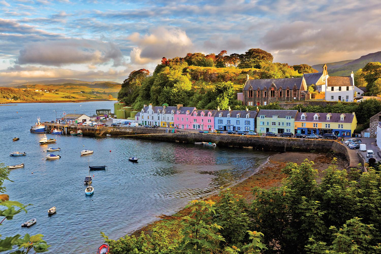 Portree, Isle of Sky
