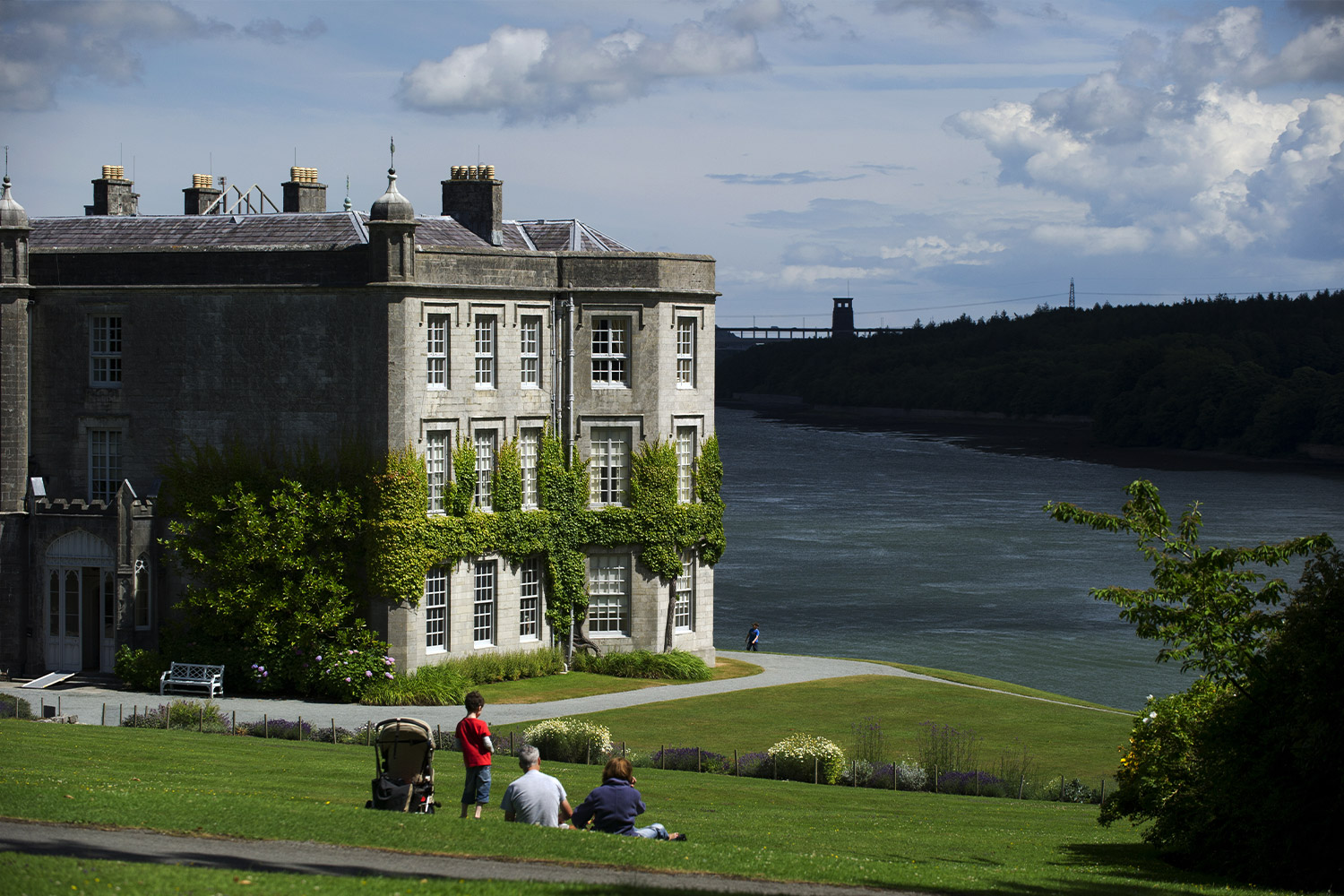 Plas Newydd House and Gardens, North Wales