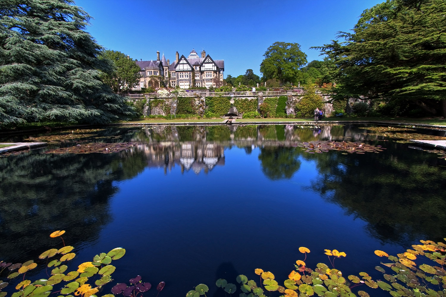 Castle and Gardens, North Wales