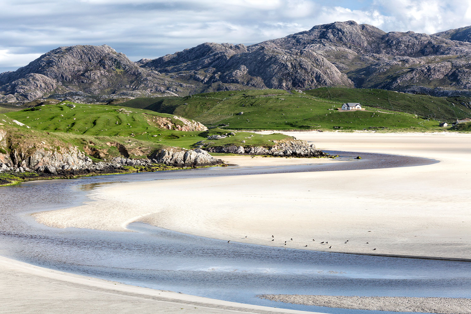 Uig Beach from the Isle of Lewis & Harris, Outer Hebrides, Scotland