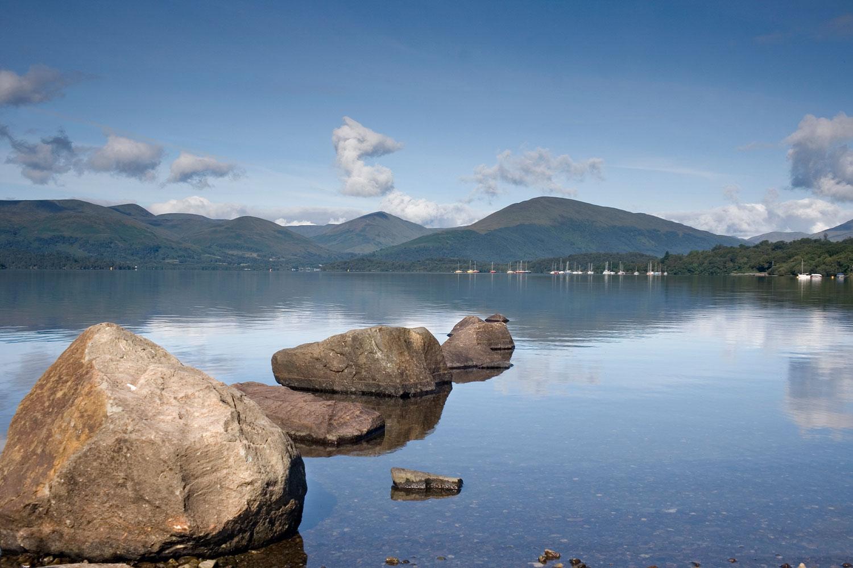 The Beautiful Loch Lomond, Scotland