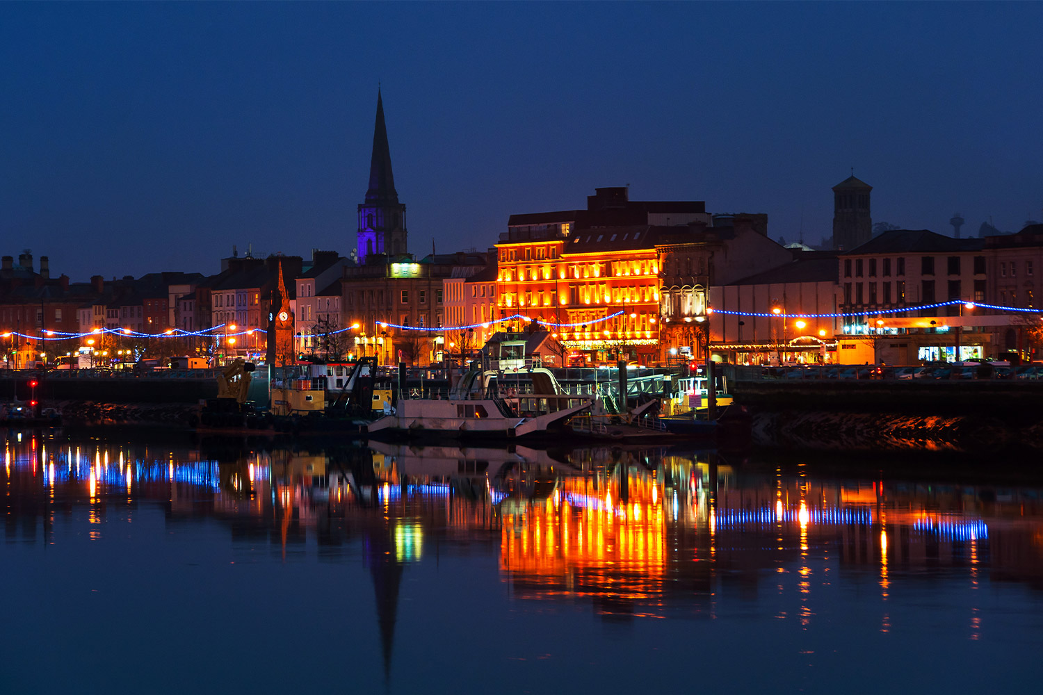 Waterford at Night, Ireland