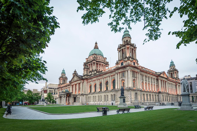 Belfast City Hall daytime shot, Belfast