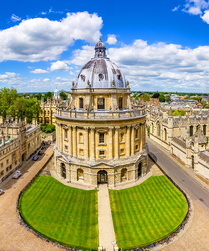 The famous Bodleian Library, Oxford University